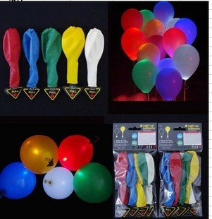 New Arrival Flash Balloon! Free Shipping Promotional 50pcs/lot Led Balloons For Party ,Fine Light Balloons For Kids