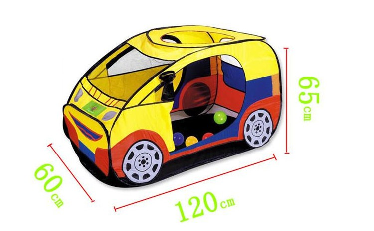 Free Shipping 2016 Hot Sale Quality child kids play tent  car toy tent large game house indoor outdoor beach play house