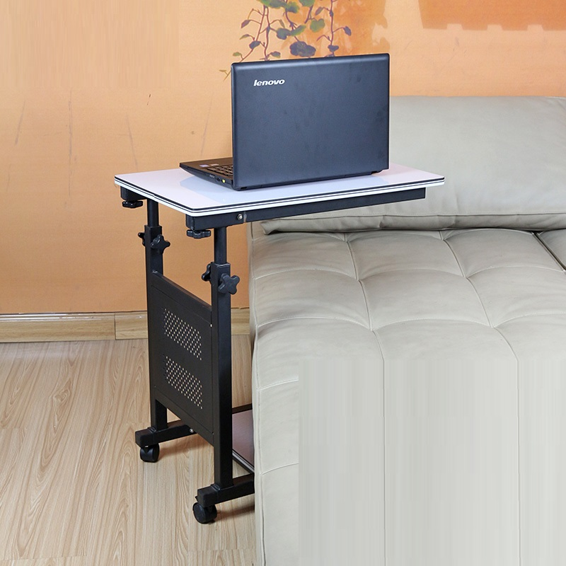 EC DAILY Tiger Dad Special simple bed laptop table folding lifting lazy fashion mobile Bedside tables FREE SHIPPING(China (Mainland))