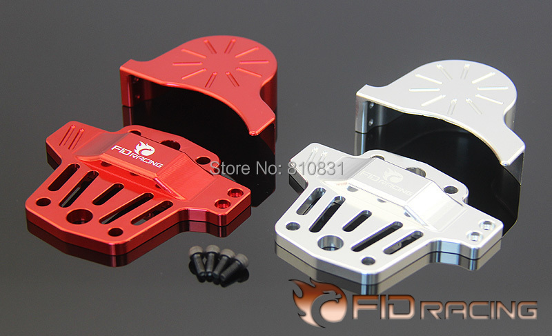 Freeshipping FID Center differential brace V2 and gear cover kit (silver and red color available) FOR LOSI 5IVE-T<br><br>Aliexpress