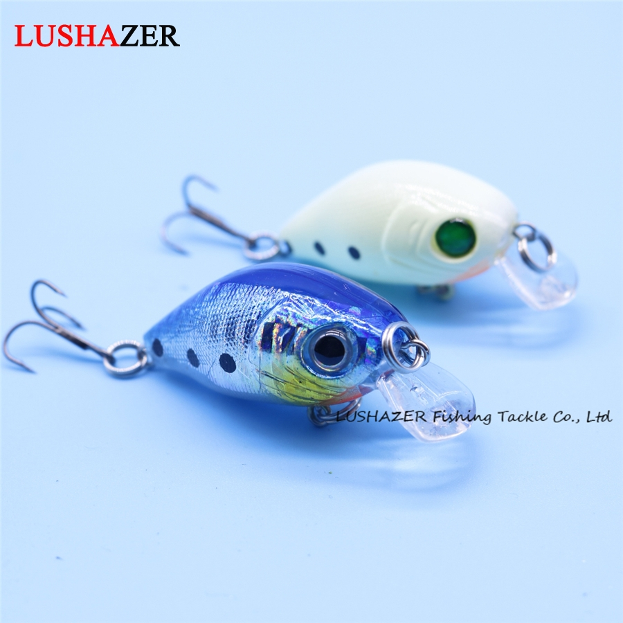 LUSHAZER Fishing lure crank bait 50mm 7g isca artificial carp fishing wobblers crankbait minnow lures bass baits fishing tackle(China (Mainland))