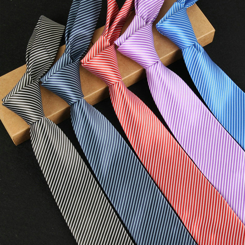 New fashion ties for mens business formal wedding 145cm*8cm*3.5cm stripe men neck tie fashion shirt dress accessories 803(China (Mainland))