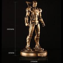 Vingadores: infinito Superhero Guerra Toni Ho Ferro Patriot 1/6 Full-Length Retrato Resina Estátua Limitada Action Figure Toy Modelo X691(China)