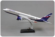 47cm Resin Air Aeroflot Russian Airlines Boeing B767 Airways Plane Model Airplane Model Toy Collections Decoration Gift(China (Mainland))