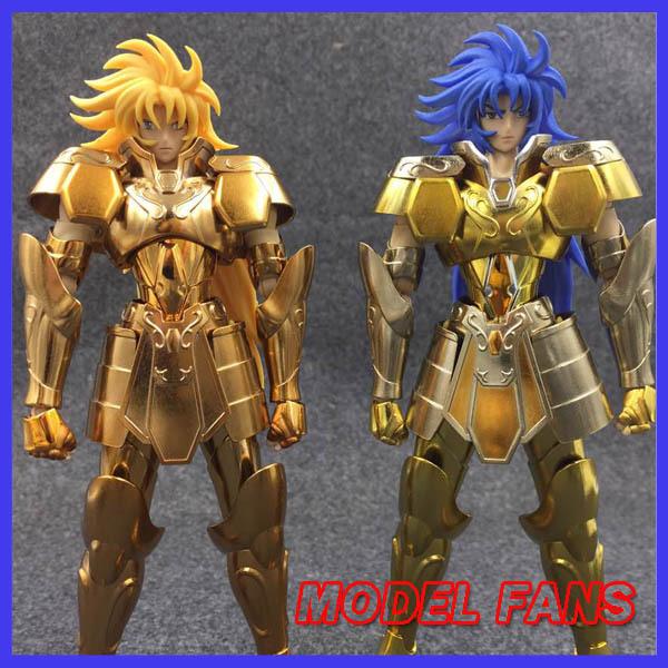 PRE-SALEFree shipping Metalclub Model Saint Seiya metal armor Cloth Myth Gold Ex2.0 gemini saga/kanon OCE  action Figure<br><br>Aliexpress