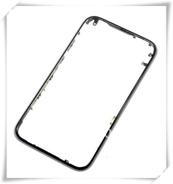 New Metal Chrome Mid Front Bezel Frame for Apple Iphone 3G 3GS(China (Mainland))