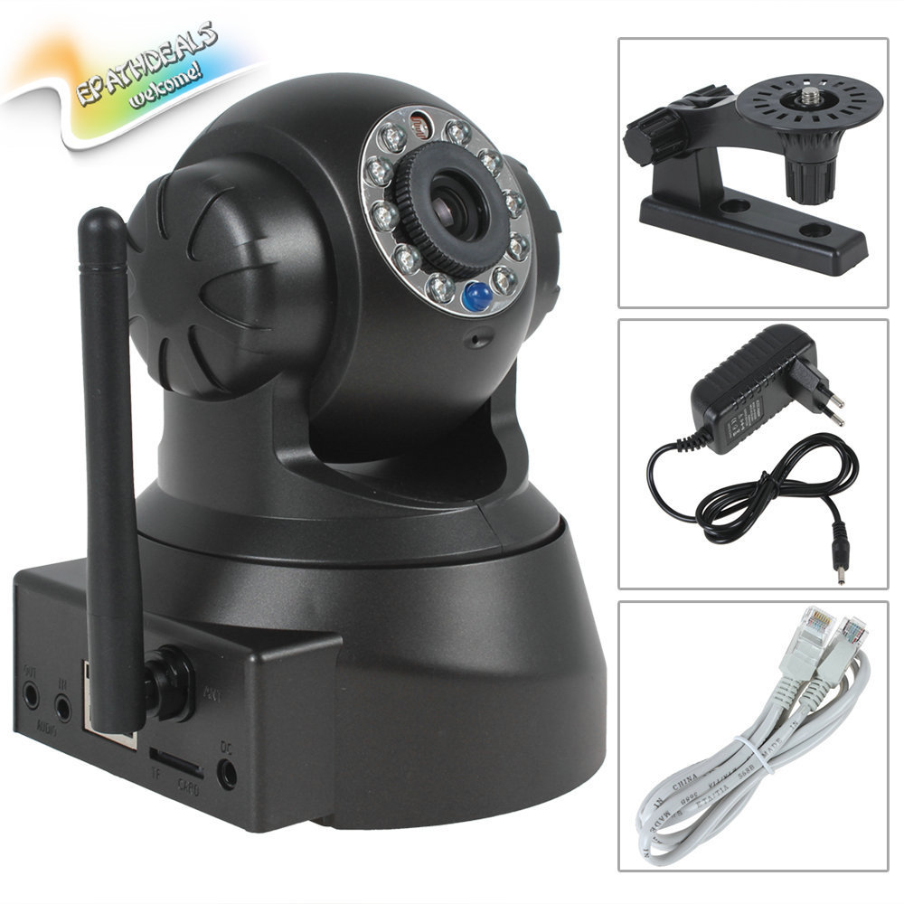 Гаджет  Wireless Wired IP Camera WiFi Video Security Surveillance Network CCTV IP Camera Outdoor with IR Night Vision / Motion Detection None Безопасность и защита