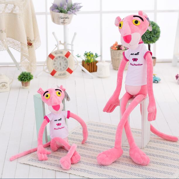 80cm High quality NICI Pink Panther Plush Toys Children Dolls Christmas Presents Birthday Gifts 1pcs(China (Mainland))