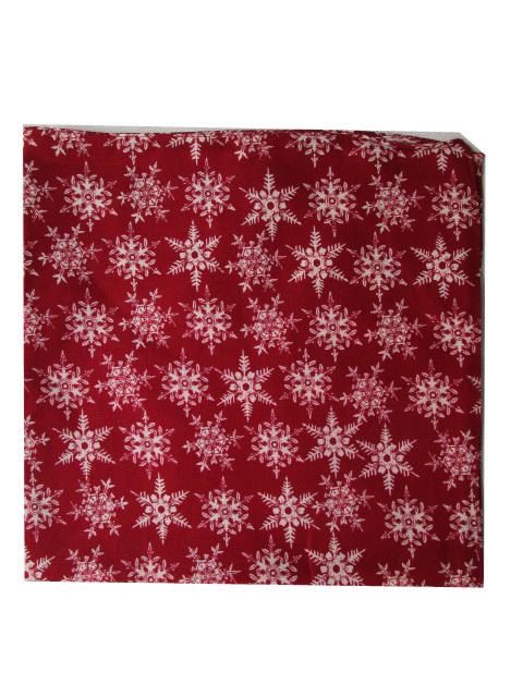 Free Shipping 2015 New Fashion Men Wine Red Snowflake Print Bandana Headband(China (Mainland))