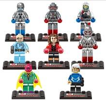 New Marvel Super Heroes Avengers Star Wars Friends Ninja Figures Bricks Building Blocks Sets Minifigures Toys Decool Compatible(China (Main