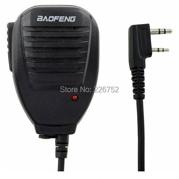 Baofeng Speaker Microphone Handheld Speaker Mic For Baofeng BF-888S UV-5R UV-5RB UV-5RA UV-5RC Walkie Talkie Radio(China (Mainland))