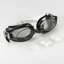 2016 Newest Fashion Style Waterproof Anti-fog UV Proof Adult Adjustable Swimming Goggle Glasses Swim Eyewear Earplugs Nose Clip