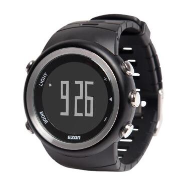 5ATM Original Ezon T023B01 Running table pedometer electronic watch Multi-functional sports watch calories Speed of tracking(China (Mainland))