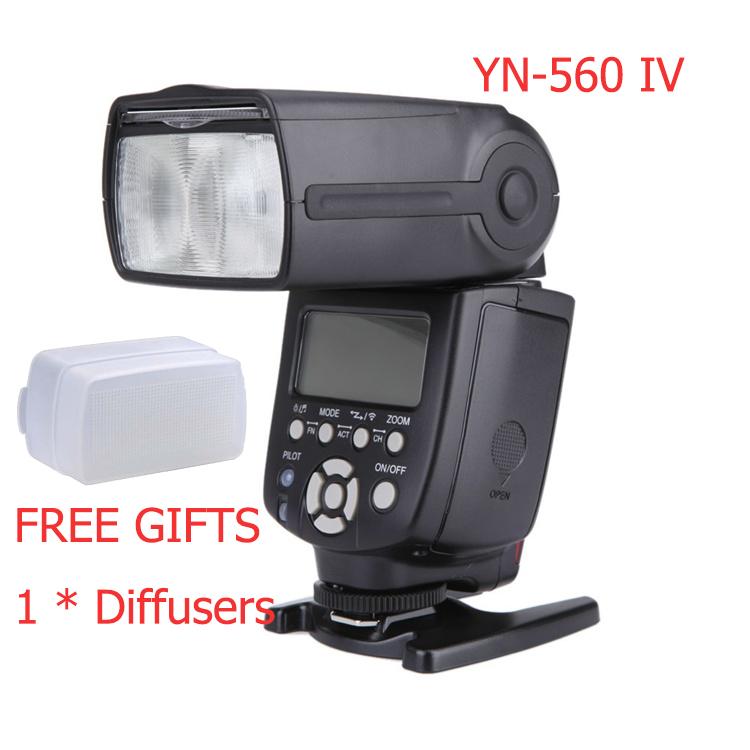 Yongnuo YN560 IV  Wireless Master Slave Flash Speedlite for Canon Nikon Pentax Olympus Fujifilm Panasonic DSLR Cameras
