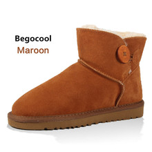 Buy Begocool 2017 Women Boots Warm Winter Snow Boots Suede Ankle Boots Female Thick Plush Inside Shoes Botas Mujer Fur Australia for $33.49 in AliExpress store