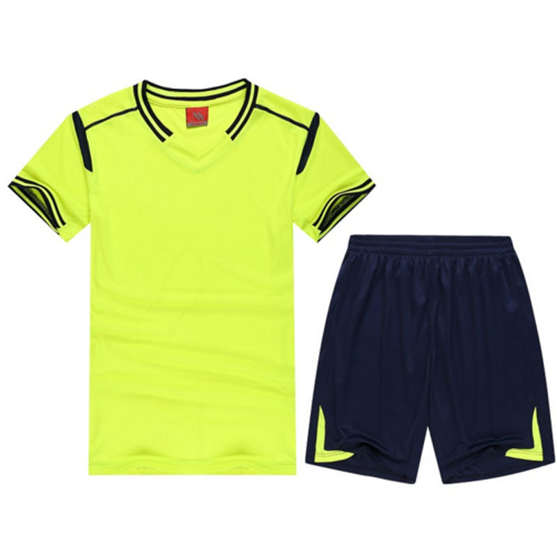 Summer Sports Football Soccer Jerseys Suit Set Men Women Children Kits DIY 15/16 Kids Adult Size Short Sleeve Blank Uniforms(China (Mainland))