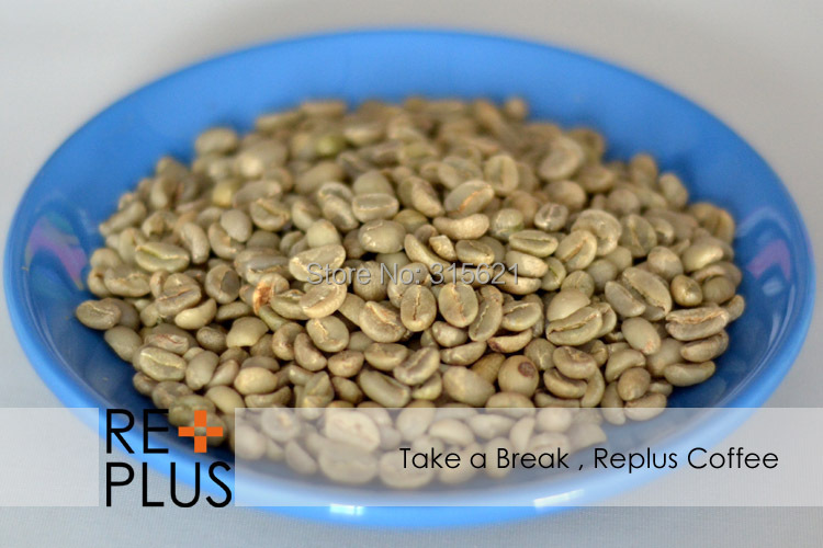 500g Ethiopia washed Yirgacheffe G2 Green coffee beans Free shipping