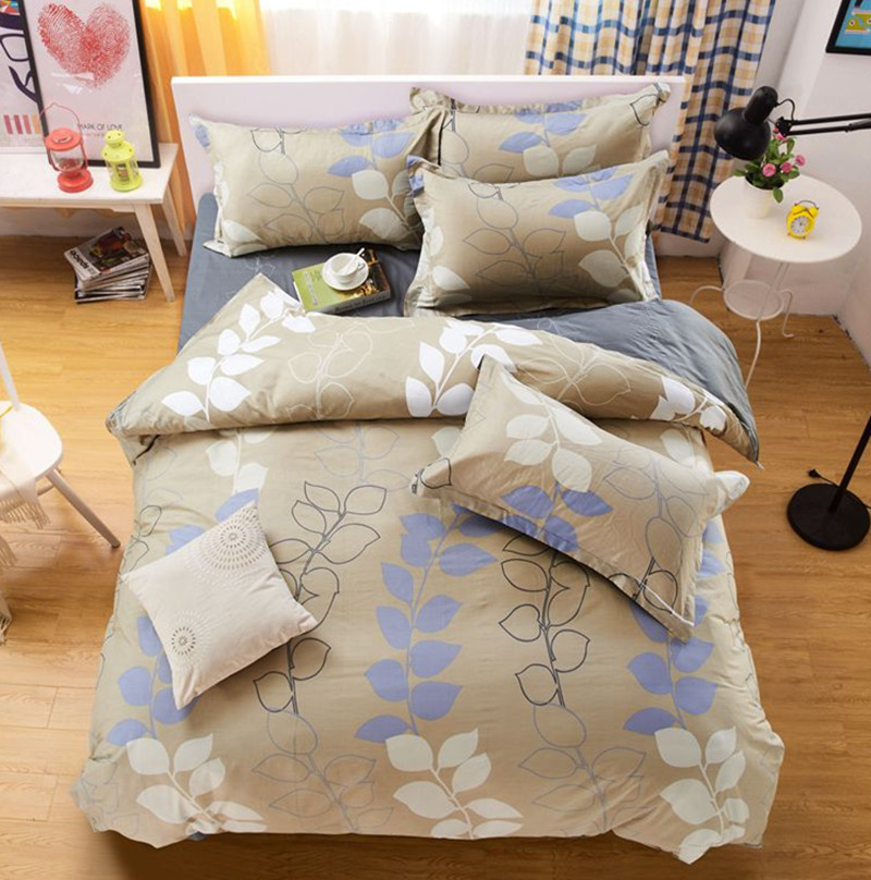 Home Texitle bedding cotton set 100% COTTON duvet cover set Twin full queen king super king size bedclothes bed set 2016 New(China (Mainland))