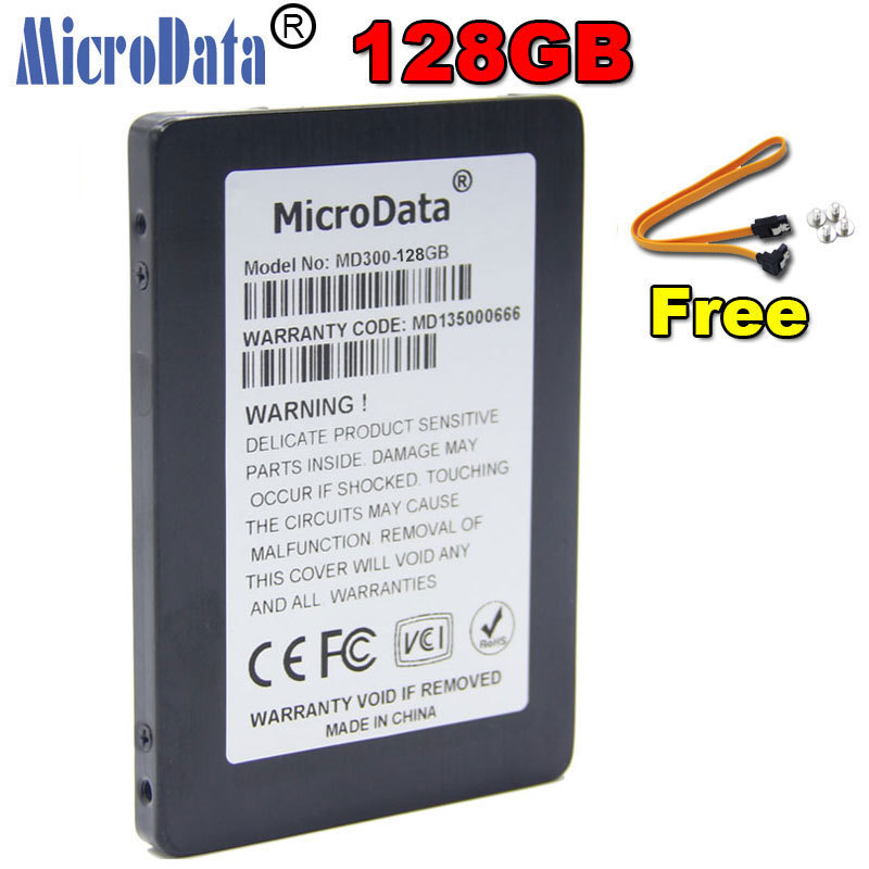 New 128GB Computer SSD Solid State Disks MicroData MD300 2.5 inch Hard Drive Disk Internal SATA III For Laptop Desktop Notebook(China (Mainland))