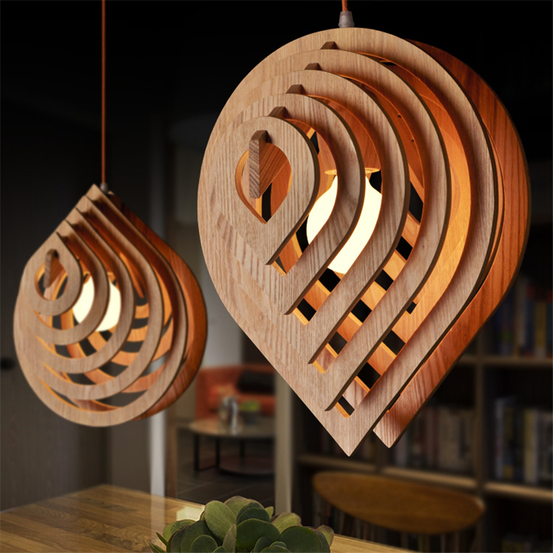 led wood pendant light rustic lighting fixtures american contemporary. Black Bedroom Furniture Sets. Home Design Ideas