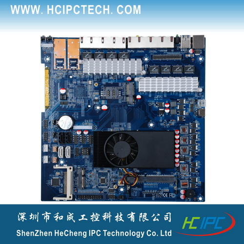 HCIPC 2062-2 LAN-HCM10L8,C1037Firewall ITX Motherboard,Mini ITX Motherboard for Car PC,White board etc(China (Mainland))