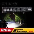 20Inch 126w LED Light Bar for Tractor ATV LED Offroad Light Bar LED Bar Offroad 4X4