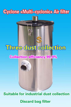 Multi-cyclone dust collector (head)