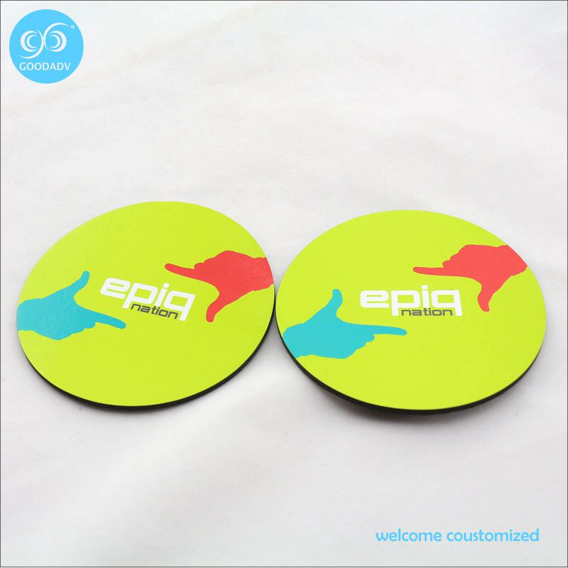 wholesale table china place bar plate mat coffee cup pad/personalised EVA cup mat(China (Mainland))