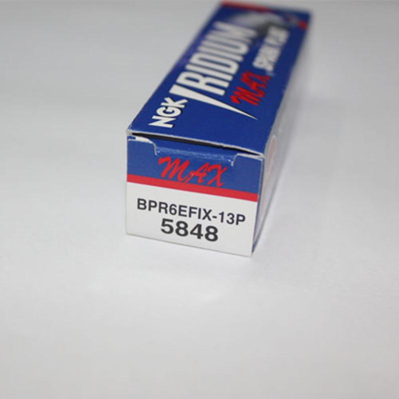 NGK laser iridium spark plug BKR6EFIX-13P  ,auto candles