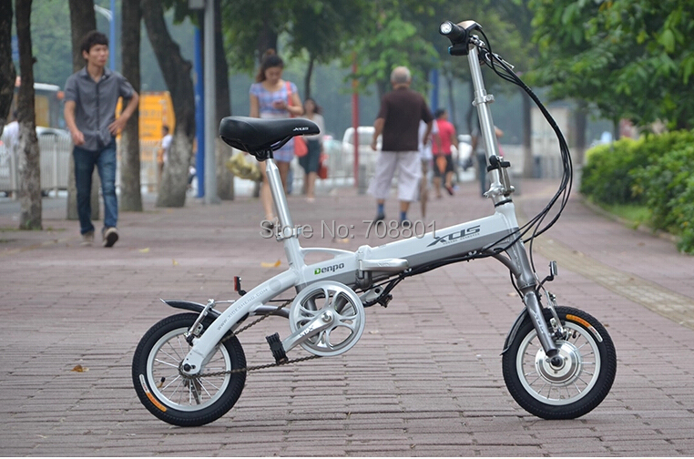 XDS mini denpo 12 inch 24V lithium battery electric bicycle