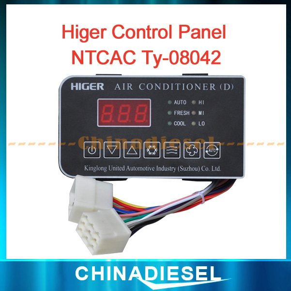 High Performance Higer Control Panel NTCAC Ty-08042 With LCD Aircon Spare Parts Bus A/C Parts /Bus A/C Control Panel<br><br>Aliexpress