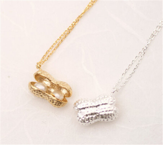 Food Jewelry Silver Gold/silver Food Jewelry