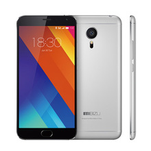 Original Meizu MX5 16GB Mobile Phone 3GB RAM 5.5″ 1920×1080 20.7MP 3150mAh Touch 2.0 Fingerprint ID 4G FDD LTE Russian Language