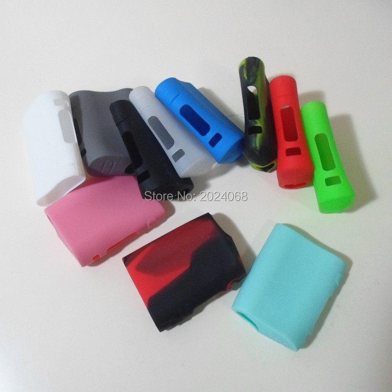 2pcs New Arrival Silicone Case Cover Skin Sleeve For IStick PICO 75W TC Box Mod Colorful Protective Storage Box Holder(China (Mainland))