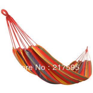 Free shipping outdoor relaxation ultra-light camping swing big size thickening canvas hammock<br><br>Aliexpress
