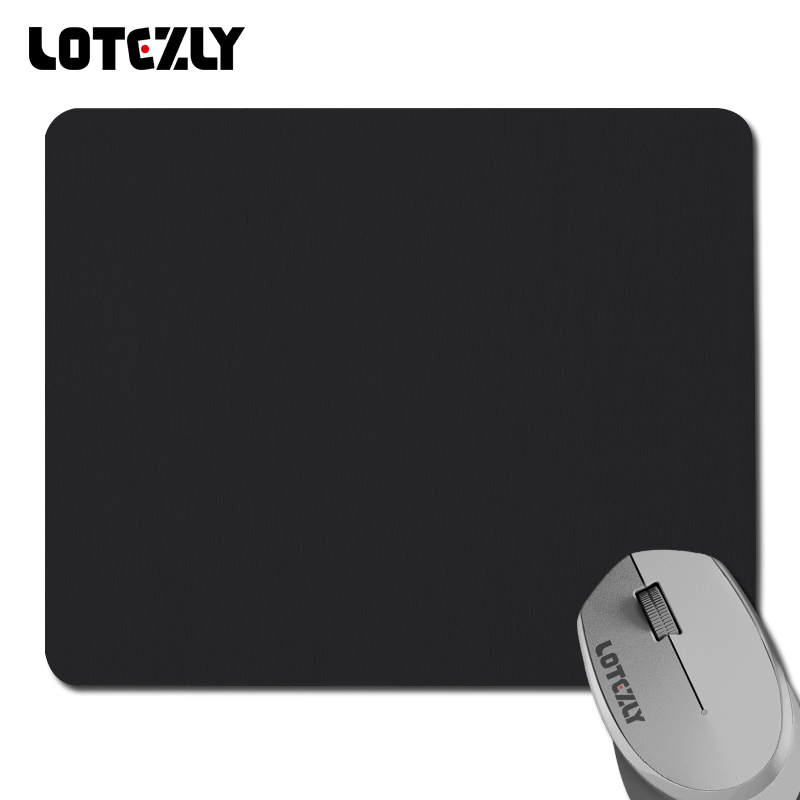 Color Black Mouse pad laptop gaming mouse mat For dota 2 lol CS mouse pad best buy large computer mouse pads(China (Mainland))