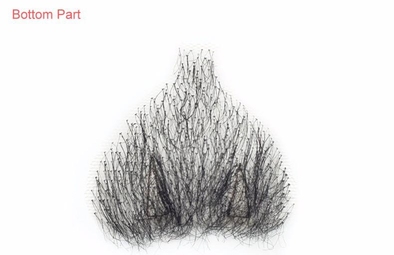 Накладки из искусственных волос из Китая