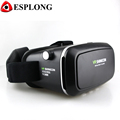 2016 Hot sale VR Shinecon VR BOX Plastic 3D Glasses google cardboard HD Glasses for 3