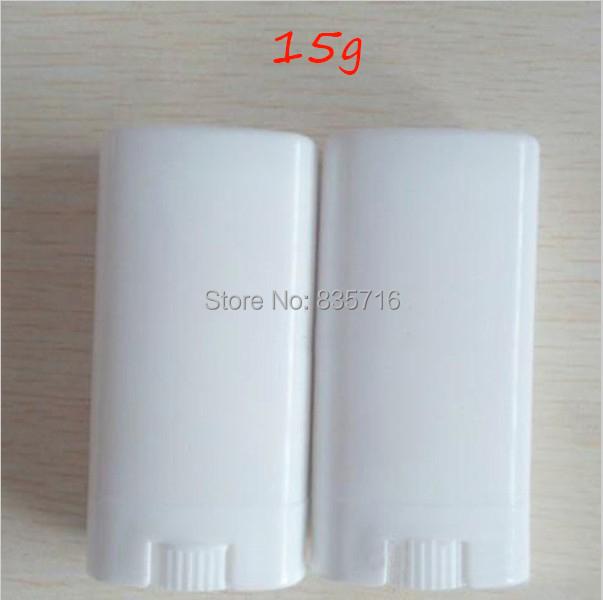 20pieces Lot 15g Whiteflat Empty Lipstick Tube Diy Lip