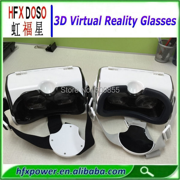 HFXDOSO-04 Newest model 3D Movies Plastic Google Cardboard 3D Glasses for Real Hd 3D 1080p(China (Mainland))