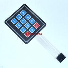 Buy 10pcs/lot 4x3 Matrix Array 12 Key Membrane Switch Keypad Keyboard 3*4 Control Panel Microprocessor Keyboard Arduino AVR for $5.87 in AliExpress store