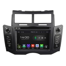 Quad Core 1.6G CPU 16GB Android 5.1.1 Car DVD Player Radio GPS Navi Stereo for Toyota YARIS 2005 2006 2007 2008 2009 2010 2011