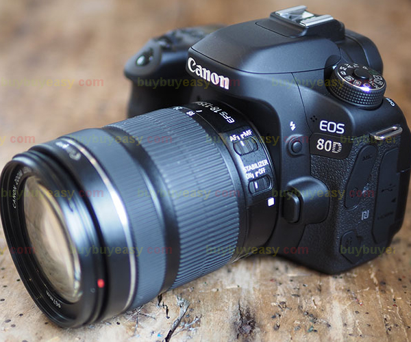 New Canon EOS 80D DSLR Camera Body with EF-S 18-135mm f/3.5-5.6 IS USM Lens Kit(Hong Kong)