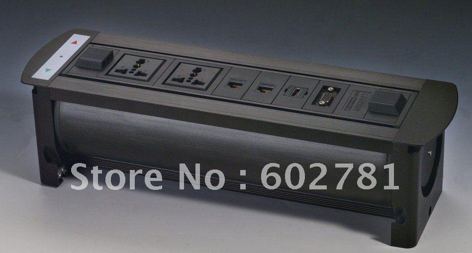 Фотография Desktop socket Universal power*2+Network*2+HDMI+VGA