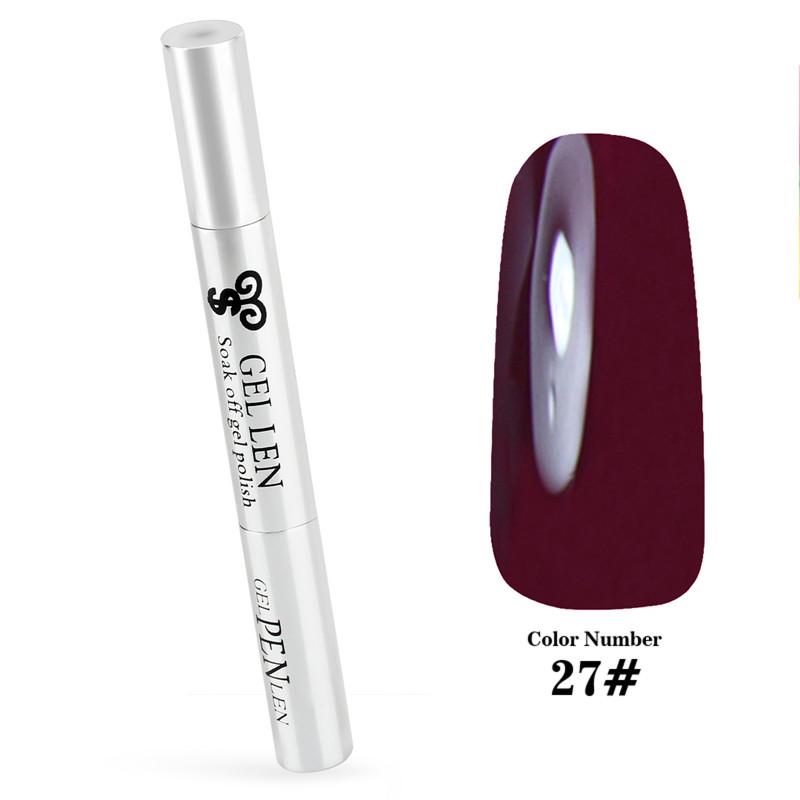 Amante del caramelo del color del café de esmalte de uñas de Gel UV Gel diseño pintura 3D pluma del arte del clavo empapa de led / UV Gel esmalte de uñas caliente slae(China (Mainland))