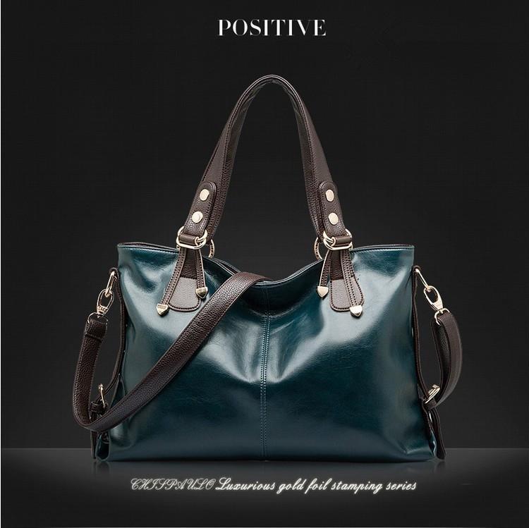 100%Genuine Leather Handbag2015 women natural leather handbag leather clutch new fashion women shoulder bags women messenger bag(China (Mainland))
