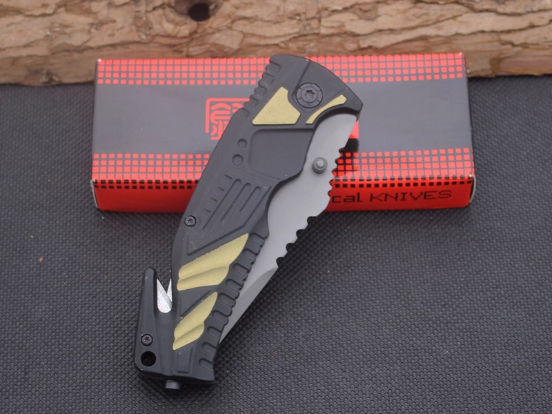 Buy 5CR13MOV Steel Blade Aviation aluminum Handle Folding Knife Survival Knifes Pocket Hunting Tactical Knives Camping Outdoor Tools cheap