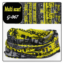 2016 New Bufandas Scarf Outdoor Sports Bicycle Riding Cycling Veil Face Bandana Skull Scarves Wicking Seamless Head Caps 61-80 (China (Mainland))