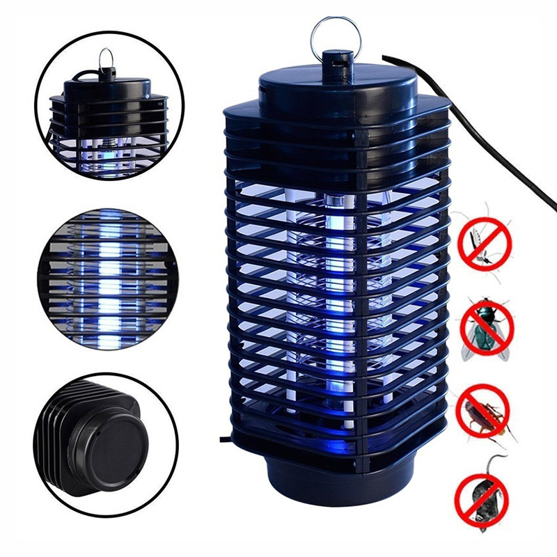 Garden Supplies Pest Control Electric Electric Mosquito Killer Moth Killing Insect LED Bug Zapper Fly Lamp Trap Wasp Pest(China (Mainland))
