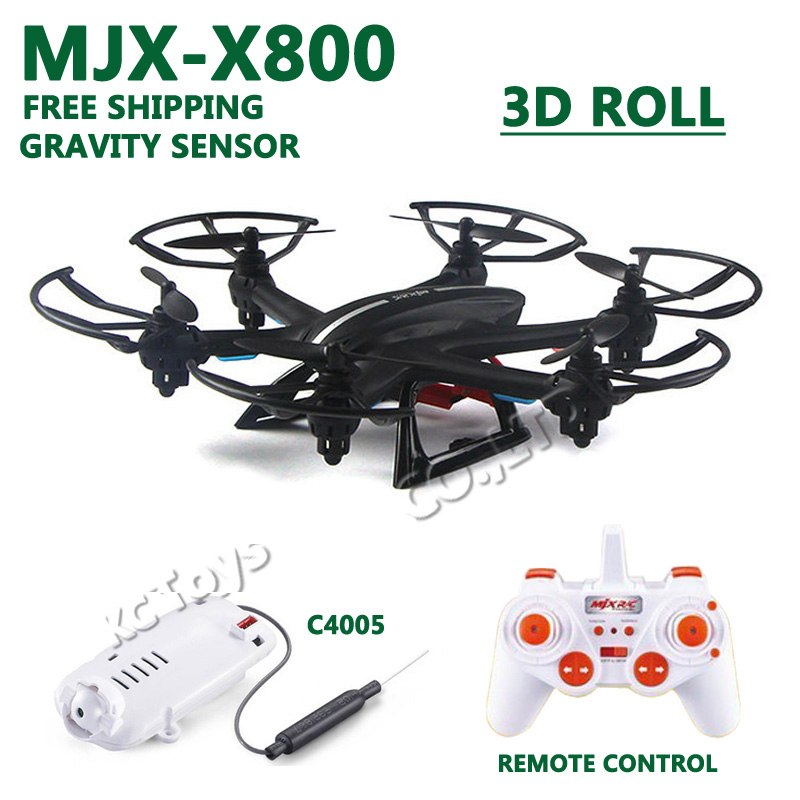 Free shipping MJX X800 RC helicopter drone quadcopter 2.4G 6-axis 4CH with C4005 WiFi FPV HD camera VS X600 X5C X6SW upgrade<br><br>Aliexpress